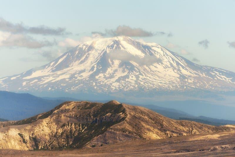 Plan rapproché de Mt Adams de crête de château image stock