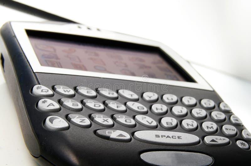 Plan rapproché de PDA photo libre de droits