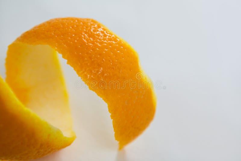 Plan rapproché de peau d'orange en spirale photos libres de droits