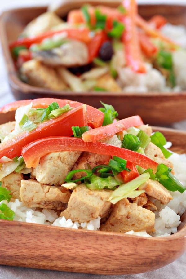 Plan rapproché de plat végétarien photographie stock libre de droits
