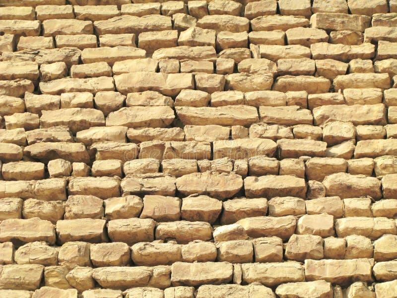 Plan rapproché de pyramide de Sakkara image stock