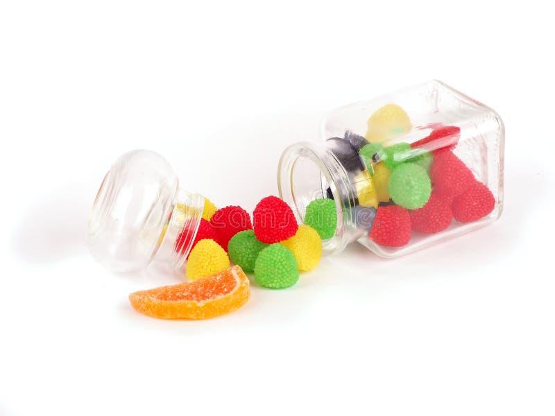 Plan rapproché de sucrerie colorée photographie stock libre de droits