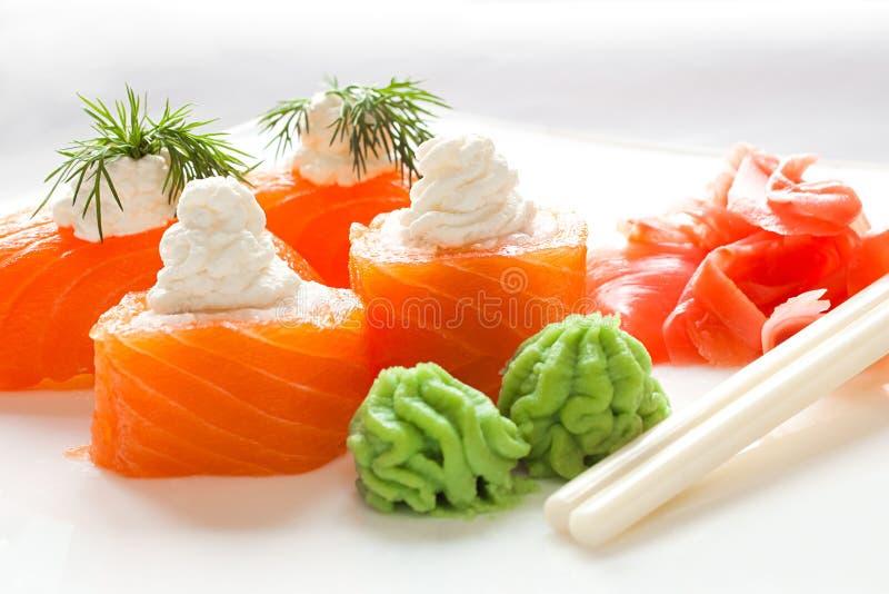 Plan rapproché de sushi photographie stock