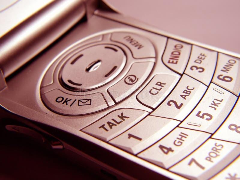 Plan rapproché de téléphone mobile images libres de droits