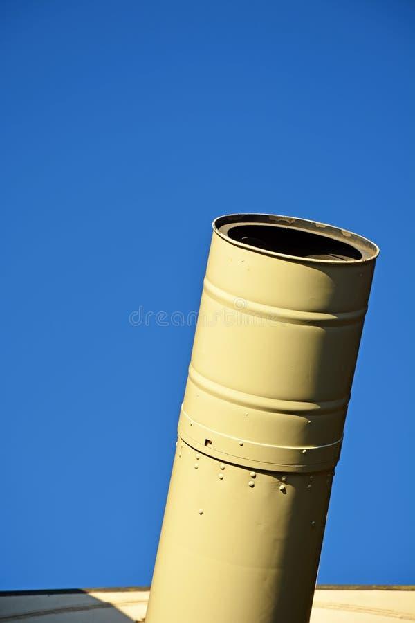 Plan rapproché de télescope photo stock