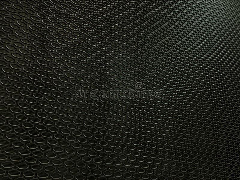 Plan rapproché de texture automatique de gril de radiateur illustration de vecteur