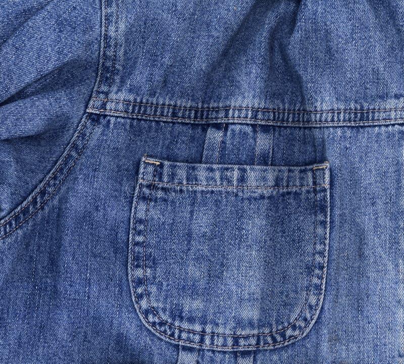 Plan rapproché de texture de jeans photo libre de droits