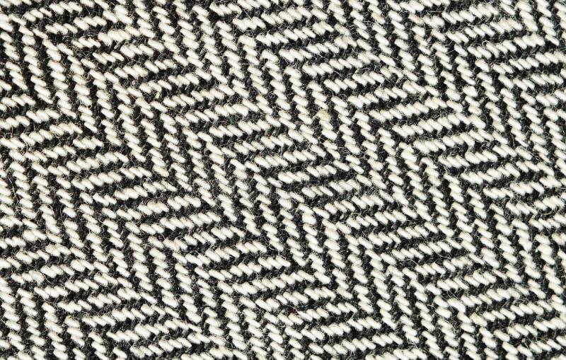 Plan rapproché de tissu de tweed photos stock