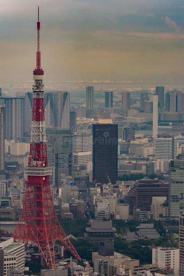 Plan rapproché de tour de Tokyo à Tokyo image stock