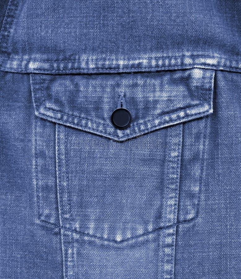 Plan Rapproché De Vieille Poche De Jeans Images stock