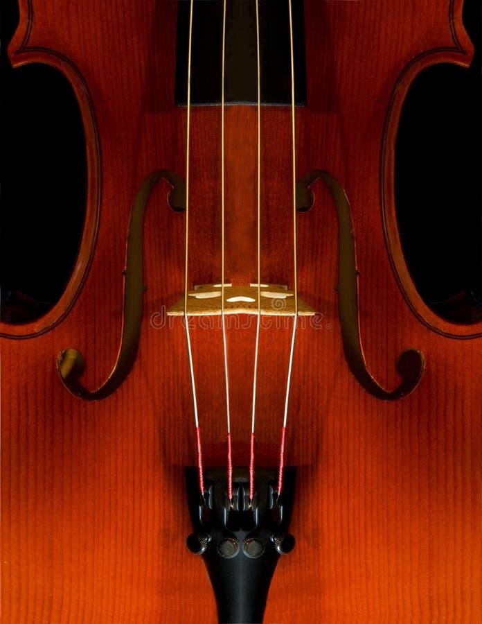 Plan rapproché de violon photo libre de droits