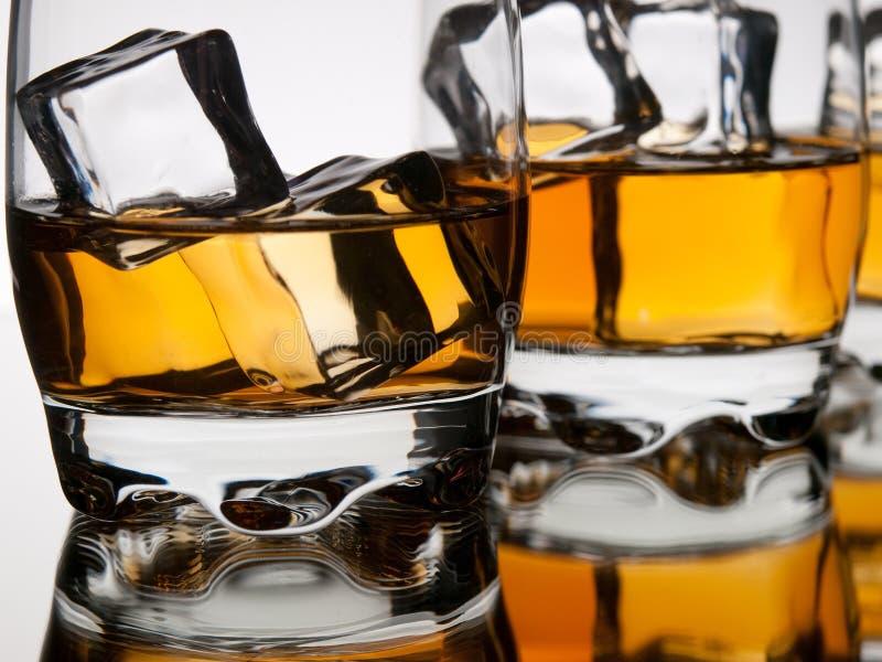 Plan rapproché de whiskey photo libre de droits