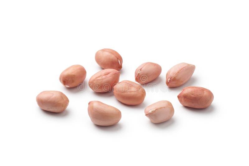 plan rapproché des arachides crues photo stock
