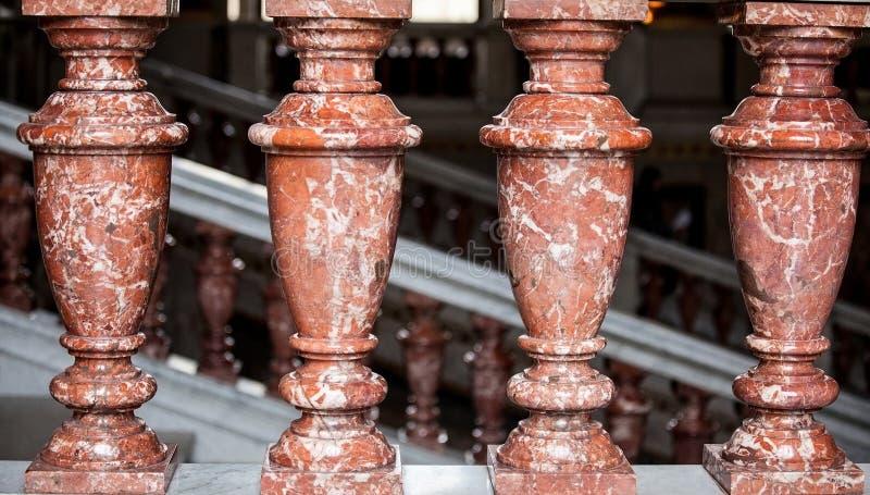 Plan rapproché des colonnes photos stock