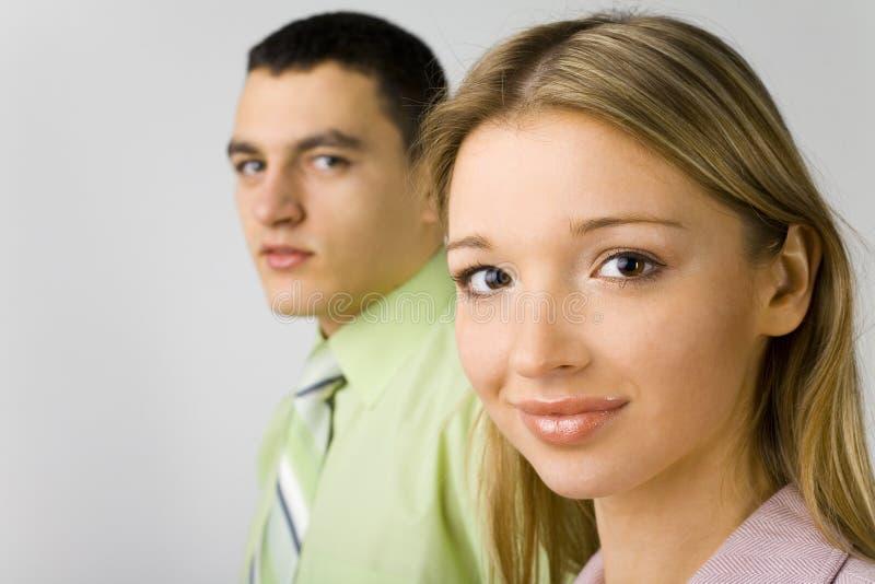 Plan rapproché des couples d'affaires images libres de droits