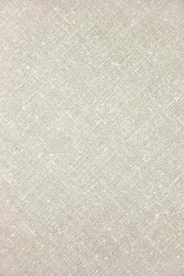 Plan rapproché diagonal de toile gris-clair de texture