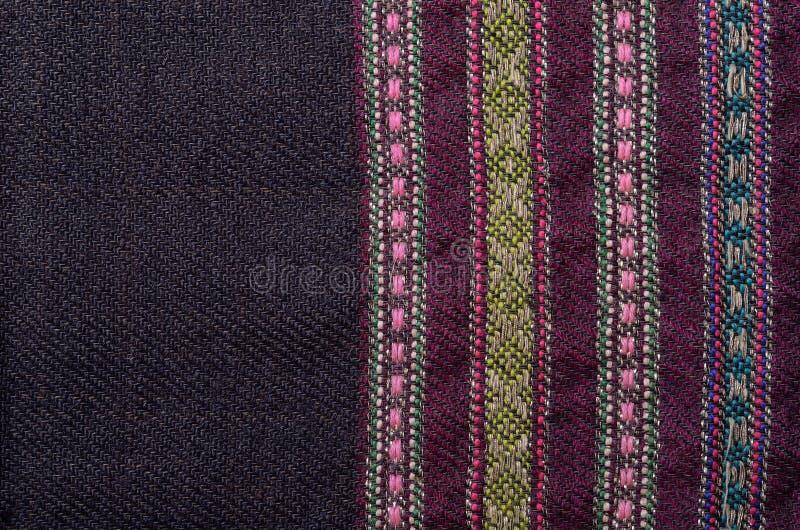 Plan rapproché du de laine de fabrication domestique photos stock