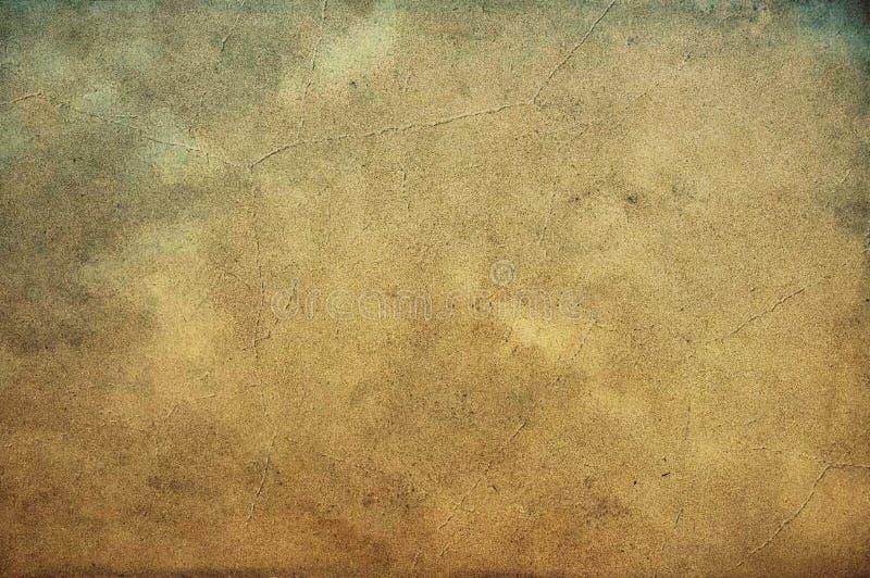 Plan rapproché du vieux papier sablé utilisé sale photographie stock