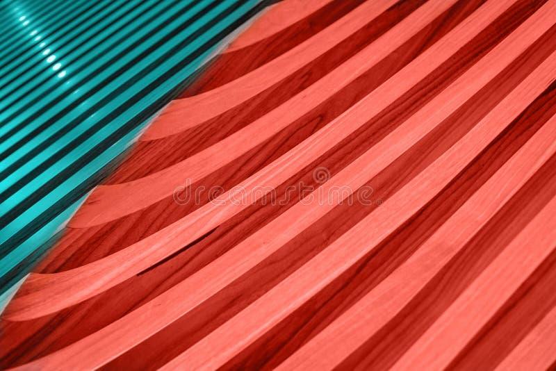 Plan rapproché en bois bleu et de corail baltique de texture de planches photos libres de droits