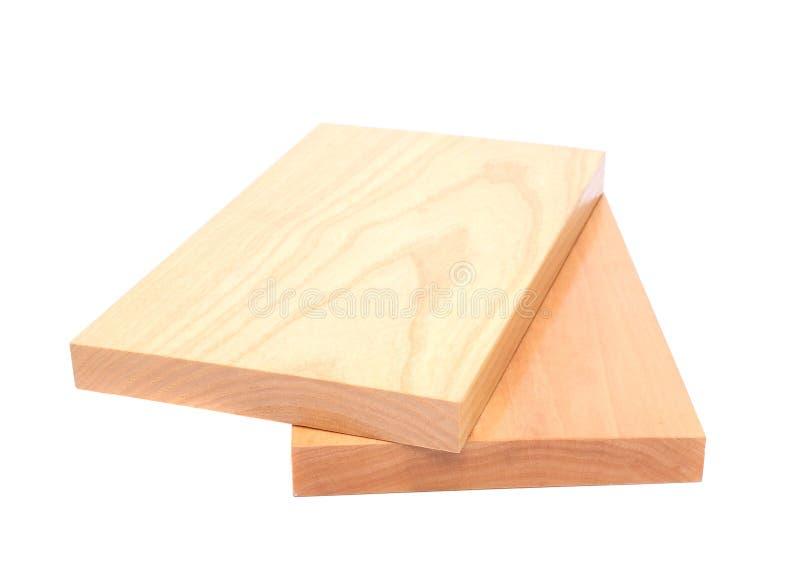 Plan rapproché en bois de la planche deux image stock