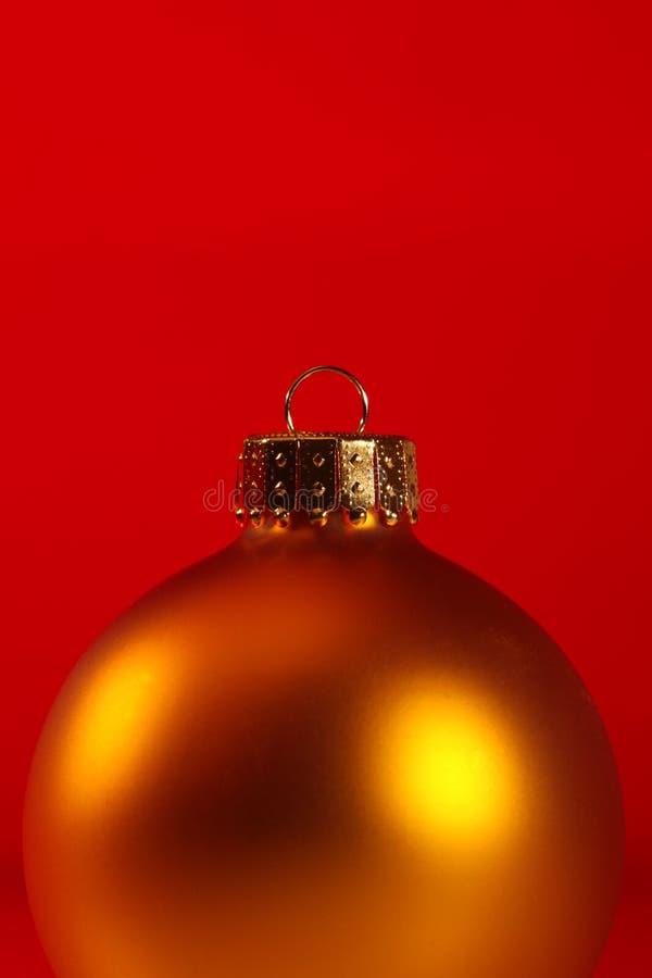 Plan rapproché extrême d'ornement de Noël photo libre de droits
