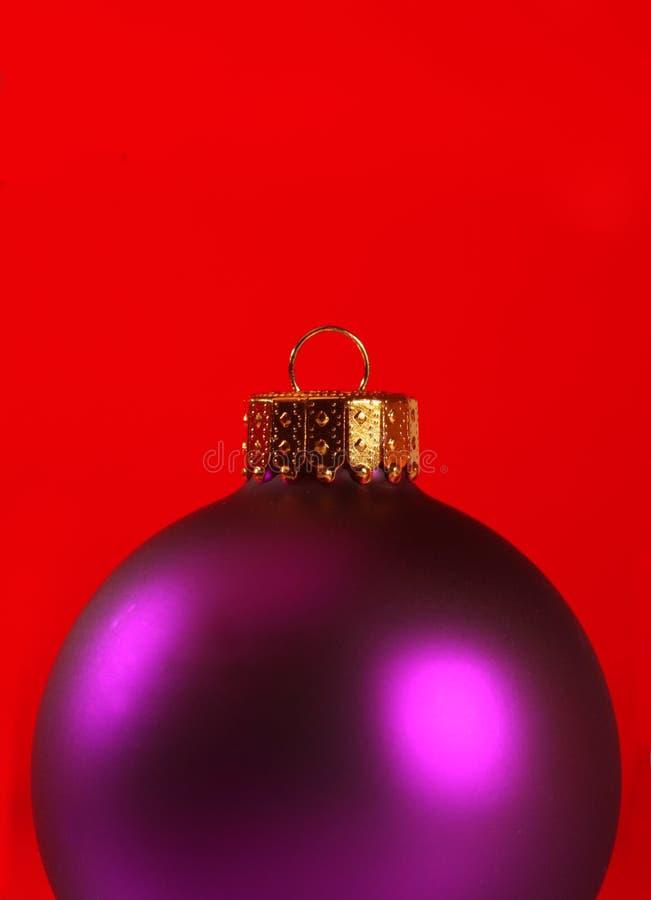 Plan rapproché extrême d'un ornement de Noël photos stock