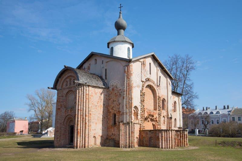 Download Plan Rapproché Médiéval De St Paraskevy Vendredi D'église, Jour Ensoleillé D'avril Veliky Novgorod, Russie Image stock - Image du jour, cour: 87707795