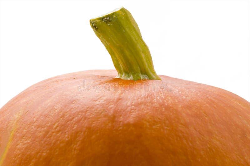 Plan rapproché orange de potiron image stock
