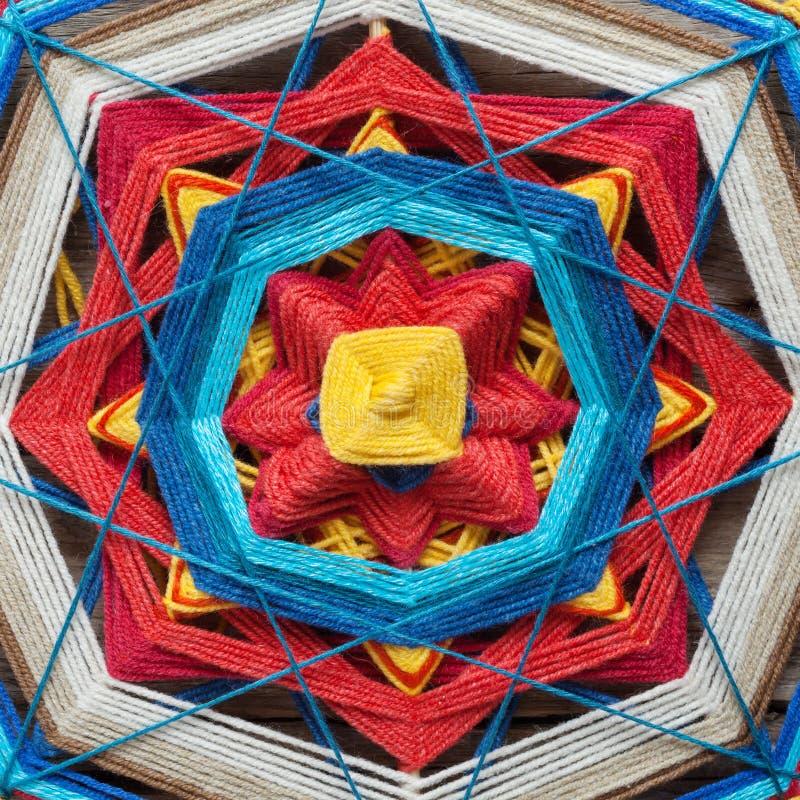 Download Plan Rapproché Tricoté De Mandala Image stock - Image du bouddha, closeup: 45354285