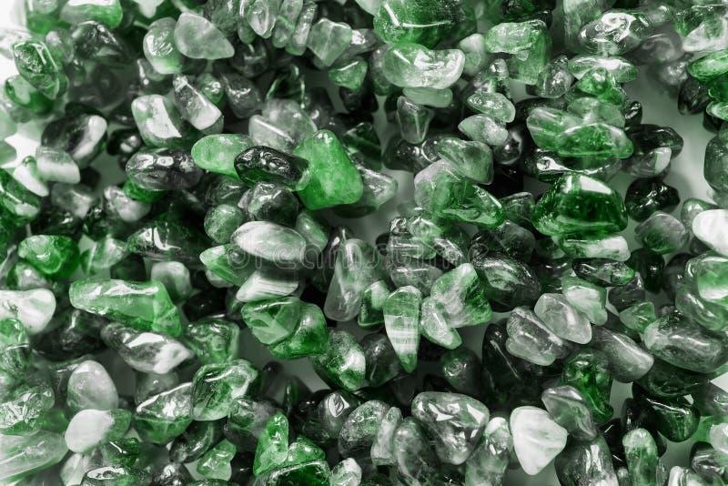 Plan rapproché vert de gemmes photographie stock libre de droits