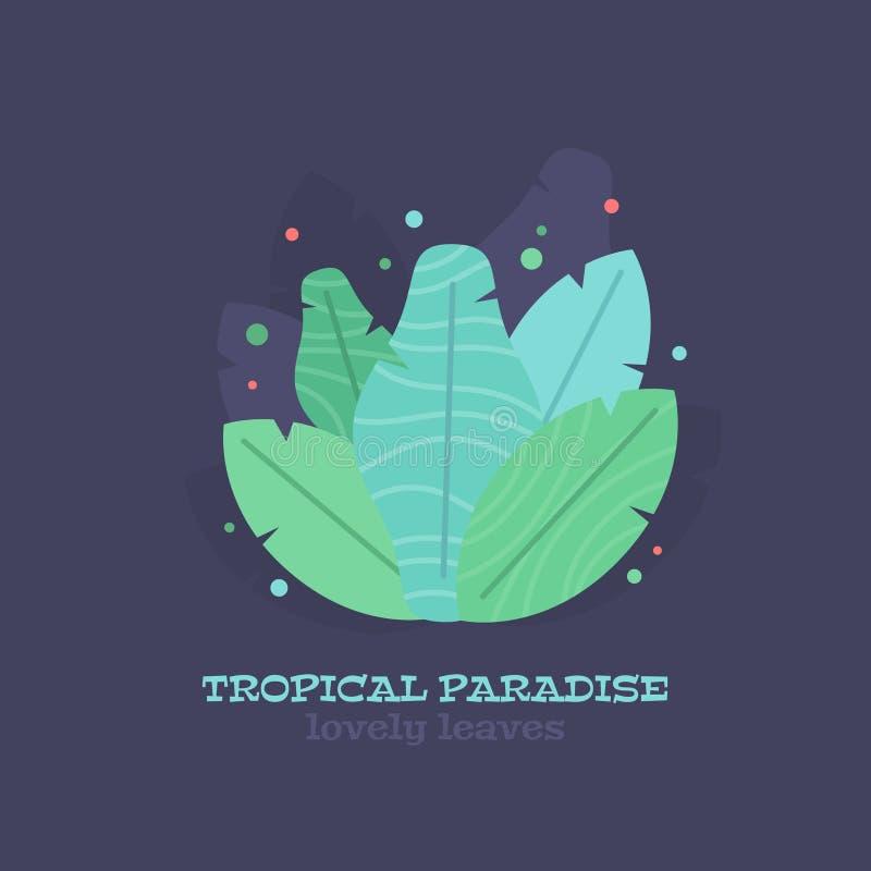 Plan sammansättning för tropisk sidasommar arkivbilder