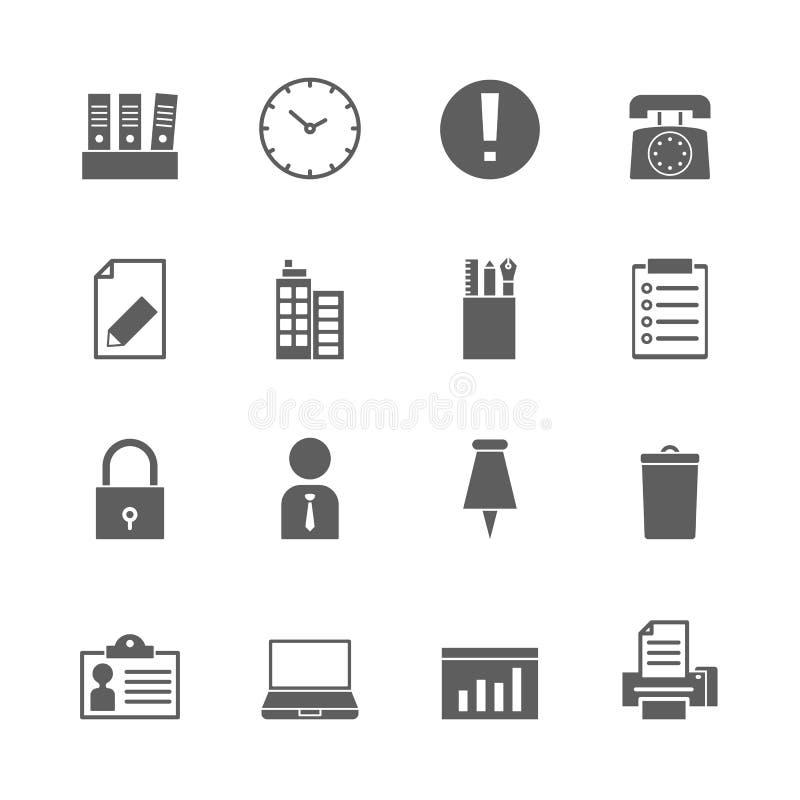 Plan serie stock illustrationer