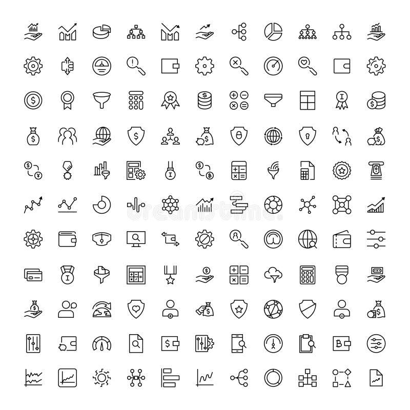 Plan symbol för handel royaltyfri illustrationer