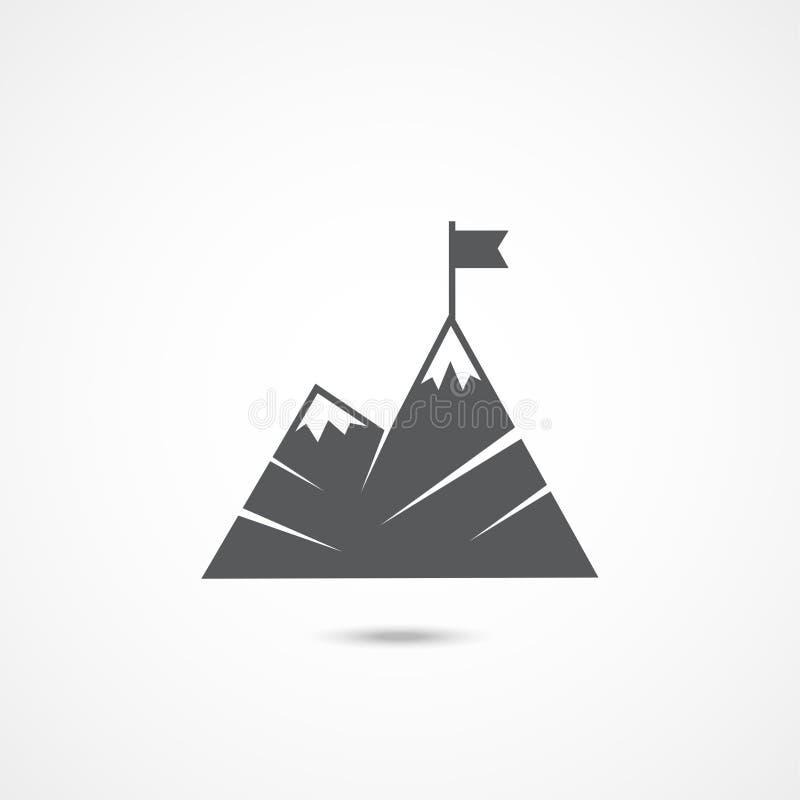 Plan symbol för ledarskap stock illustrationer