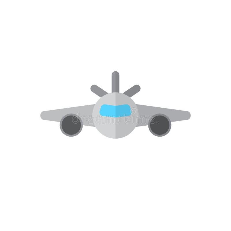 Plan symbol för nivå, fyllt vektortecken, färgrik pictogram som isoleras på vit stock illustrationer