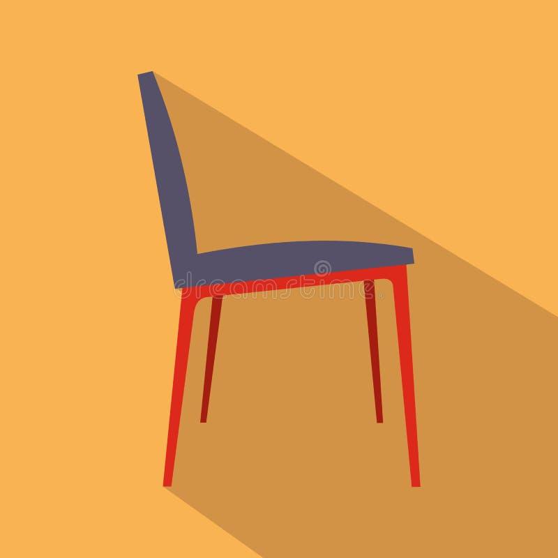 Plan symbol för stol stock illustrationer