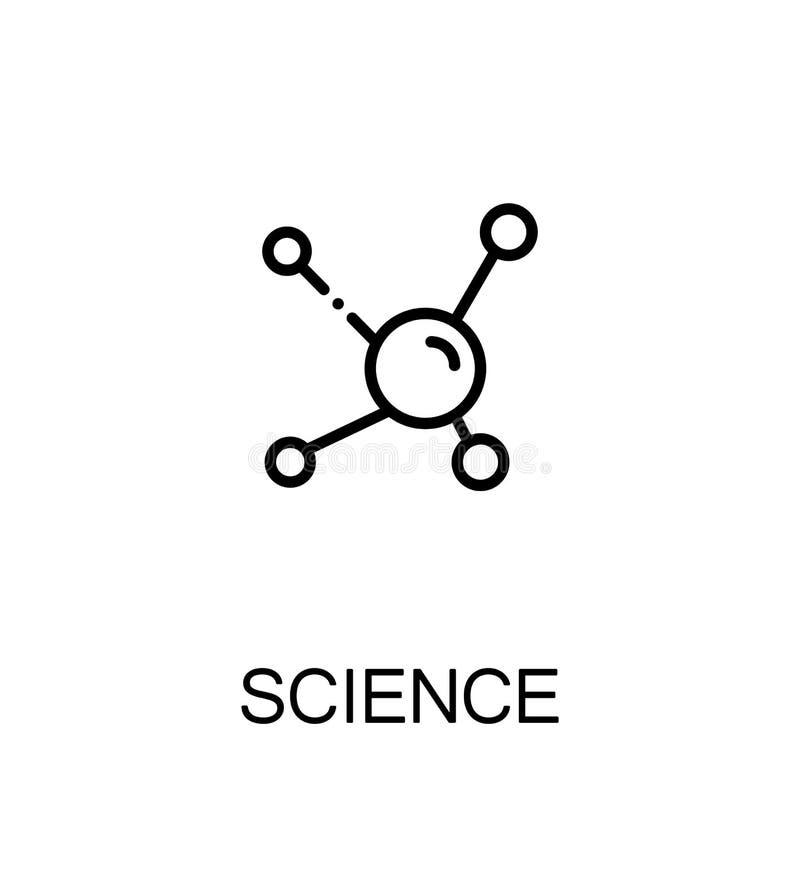 Plan symbol för vetenskap vektor illustrationer