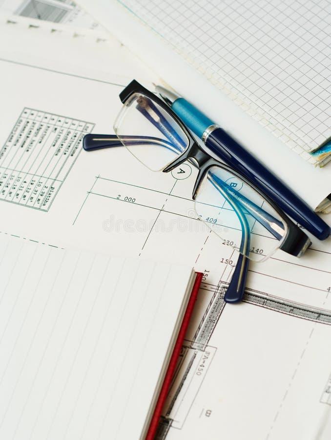 Plan Z Notatnikiem. Obrazy Stock