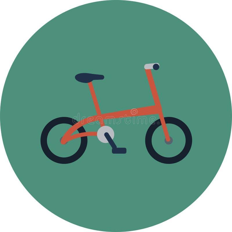 Plana symboler för transport Bilar och plan illustration för kollektivtrafikvektor royaltyfri illustrationer