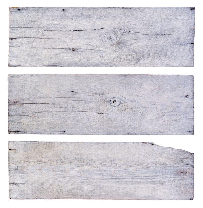 Plance di legno bianche fotografia stock