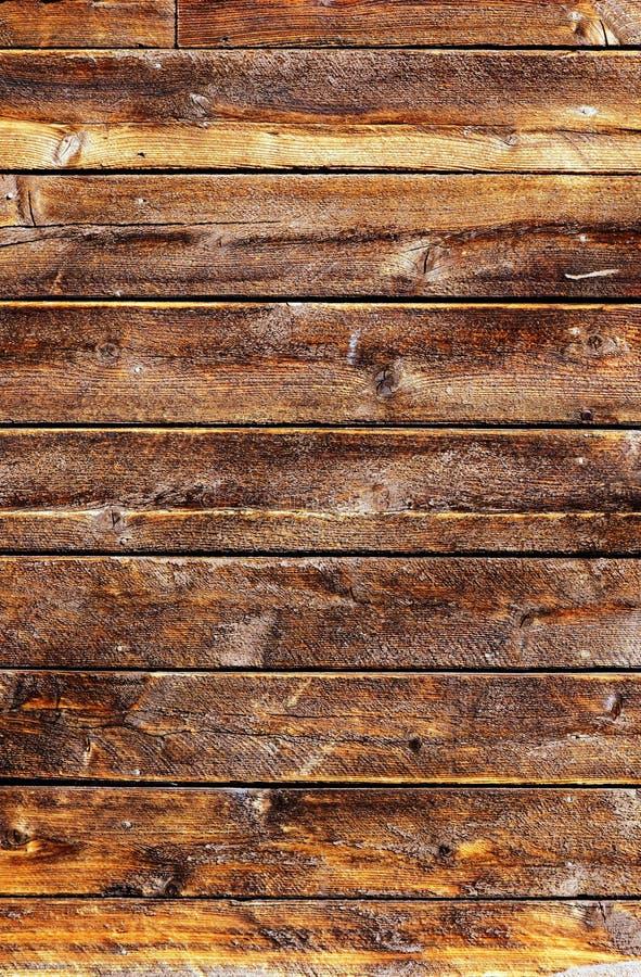 Plance Di Legno Esposte All Aria Grungy Fotografia Stock Libera da Diritti