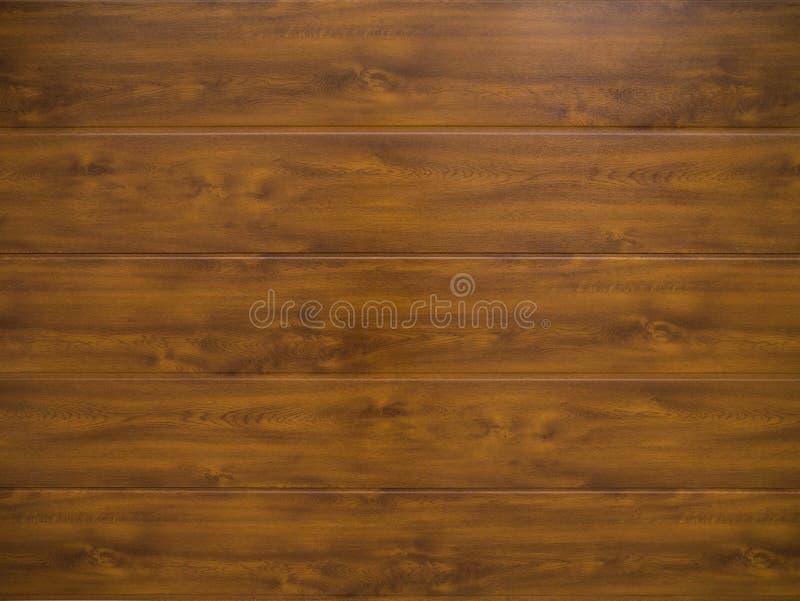 Plance di legno orizzontali con il modello di legno naturale del grano fotografie stock libere da diritti