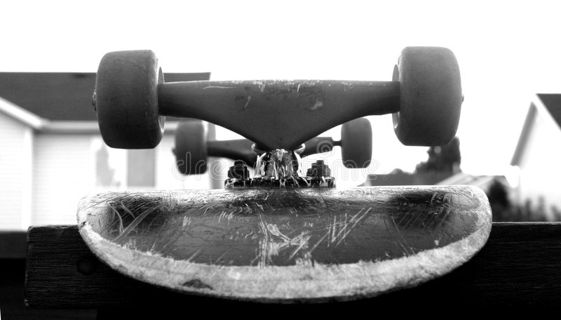 Planche à roulettes photos libres de droits
