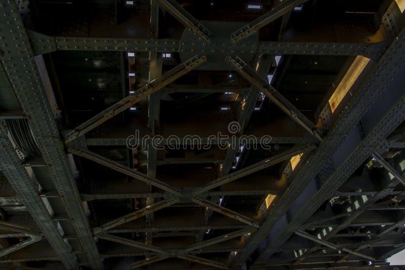 Planche el puente fotos de archivo