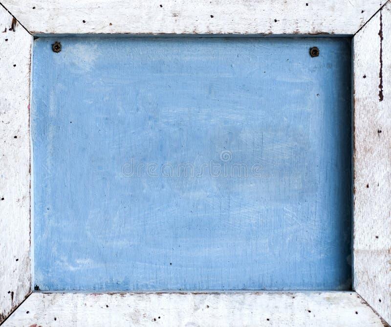 Planche en bois effectuée pour encadrer images stock