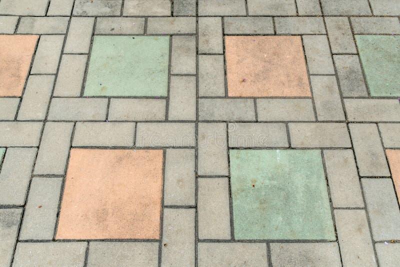 Download Plancher de bloc de béton image stock. Image du lignes - 76087583
