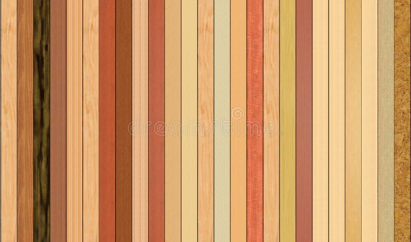 Plancher de bois dur illustration stock
