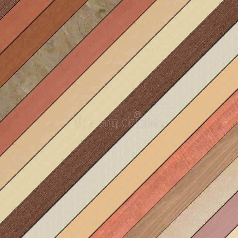 Plancher de bois dur illustration libre de droits
