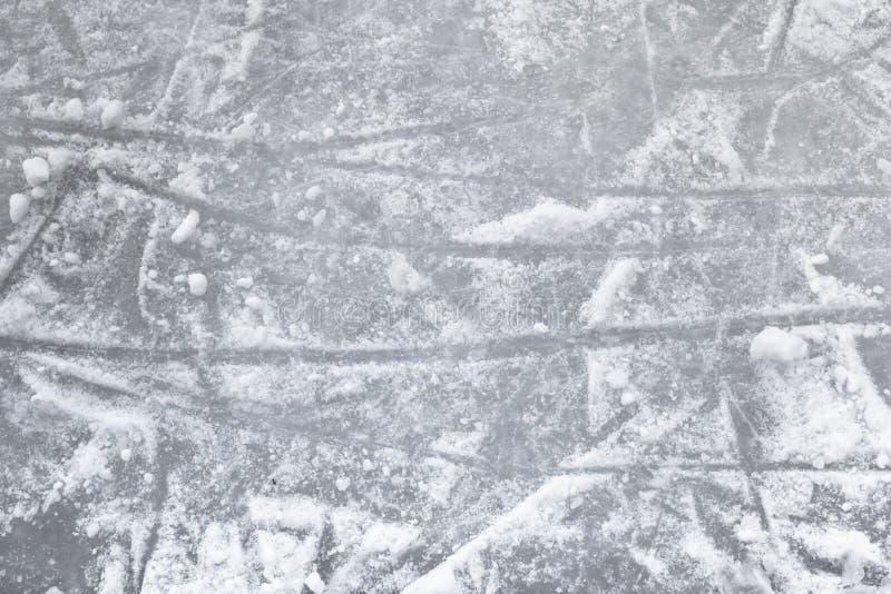 Plancher de patinoire photo stock