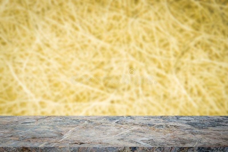 Plancher de pierre de Mable avec le fond abstrait de tache floue photographie stock libre de droits